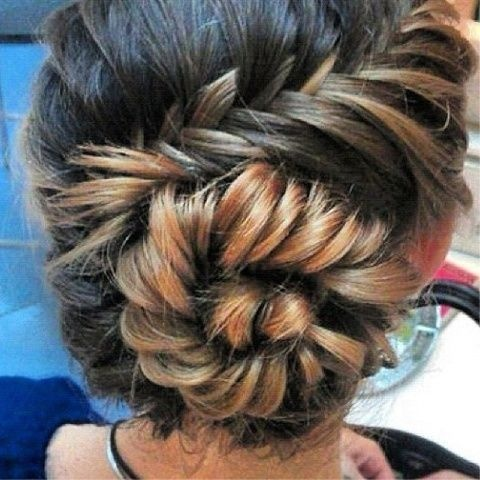 gorgeous braid: Hair Ideas, French Braids, Hairstyles, Long Hair, Beautiful, Fishtail Buns, Fishtail Braids, Hair Style, Braids Buns