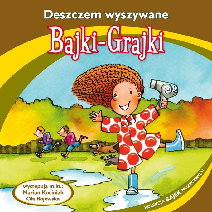 """Bajki-Grajki nr 85 """"Deszczem wyszywane""""  Ilustracja: Marcin Bruchnalski  www.bajki-grajki.pl"""