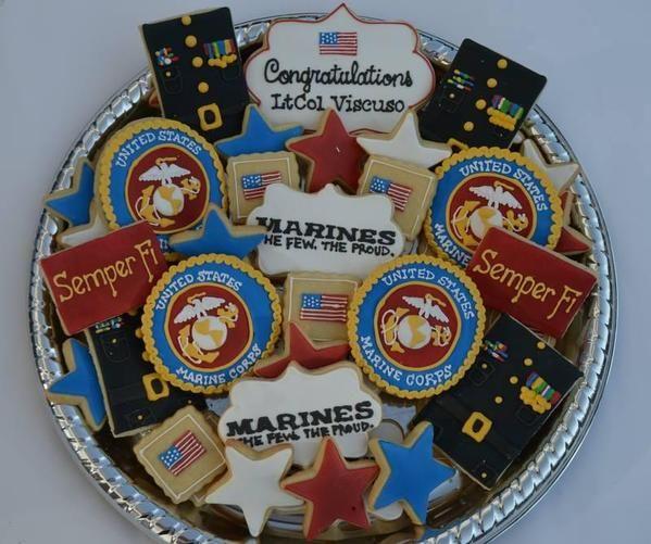 Marine Corps Retirement Platter