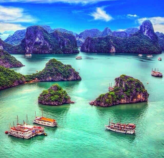 Ha Long Bay in Vietnam is one of 10 unforgettable bucket list trips.