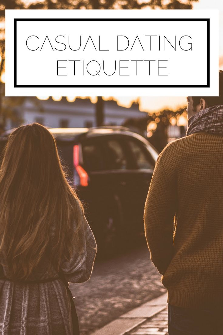 casual dating etiquette Casual hook-up etiquette yes they do visit any online casual dating site, and there are many now to choose from, from sex only to secret affairs.