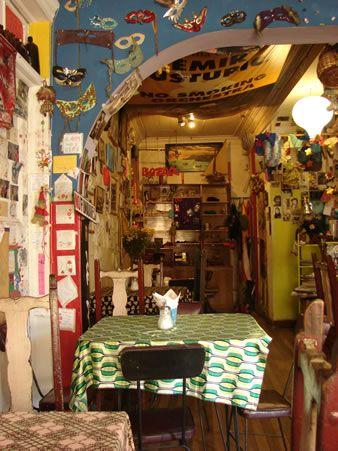 Color Cafe, Valparaiso, Chile