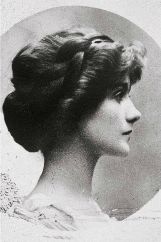 Coco Chanel 1909. Hair braid