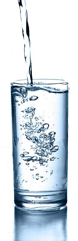 Water is an example of a homogeneous mixture. It often contains dissolved minerals and gases, but these are dissolved throughout the water. Tap water and rain water are both homogeneous, even though they may have different levels of dissolved minerals and gases
