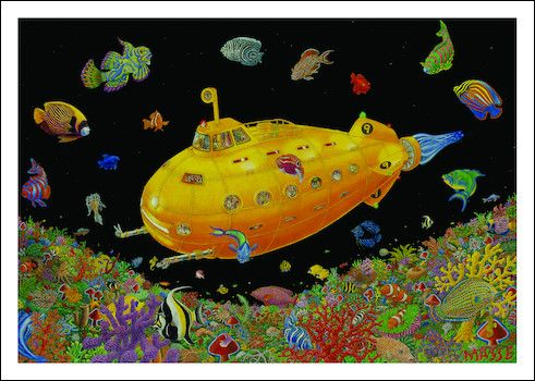 Black light posters 156 pinterest tom masse yellow submarine black light poster mozeypictures Image collections