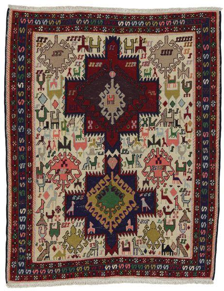 Κelim Sumak - Afshar 136x110 - CarpetU2