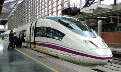 A beginner's guide to train travel in Spain | How to use www.renfe.com  This is a great site, the first article, spain by train in a nutshell is awesome. Renfe is the foremost train company in Spain. We should look at buying spain passes.