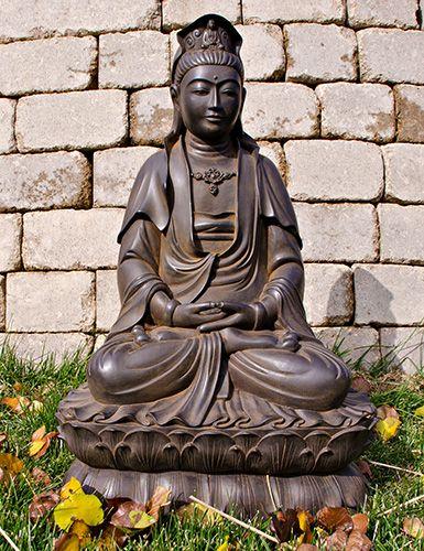 Seated Kuan Yin Statue