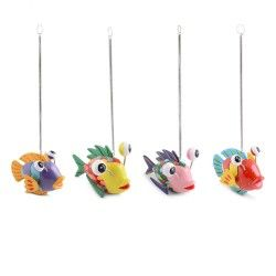 garden ornaments and accessories. bouncy multi coloured fish ornament for garden or home ornaments \u0026 accessories #gardening # and