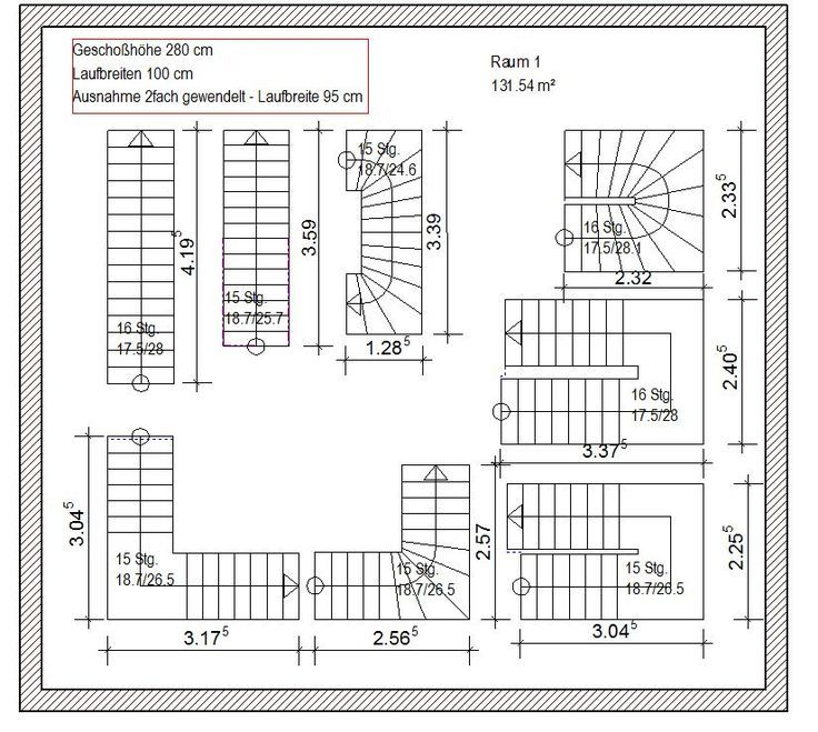Stair Forms And Floor Plans Stairs And Measurements For Floor Plans Floor Plans Stairs Architecture How To Plan