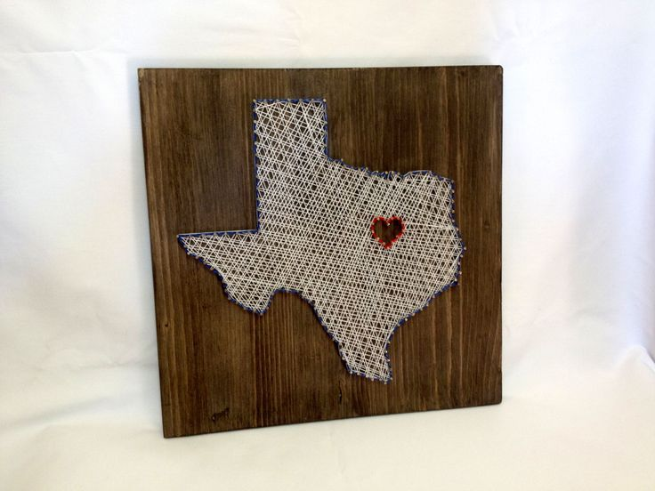 Texas State String Art Texas Wall Art Home Decor от OneRoots