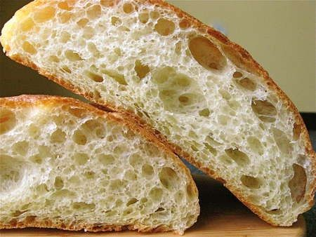Sourdough Ciabatta - Italian Bread  Bread Machine Recipe - Sourdough Bread Recipe