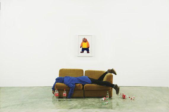 Crash Bear by Rindamill on Etsy