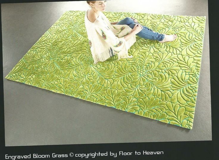 Engraved bloom grass...