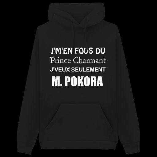Sweat M.Pokora crée sur le site keewi, idéale pour les pokofans !