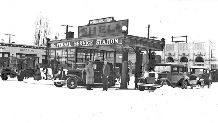 Shell station early 30's