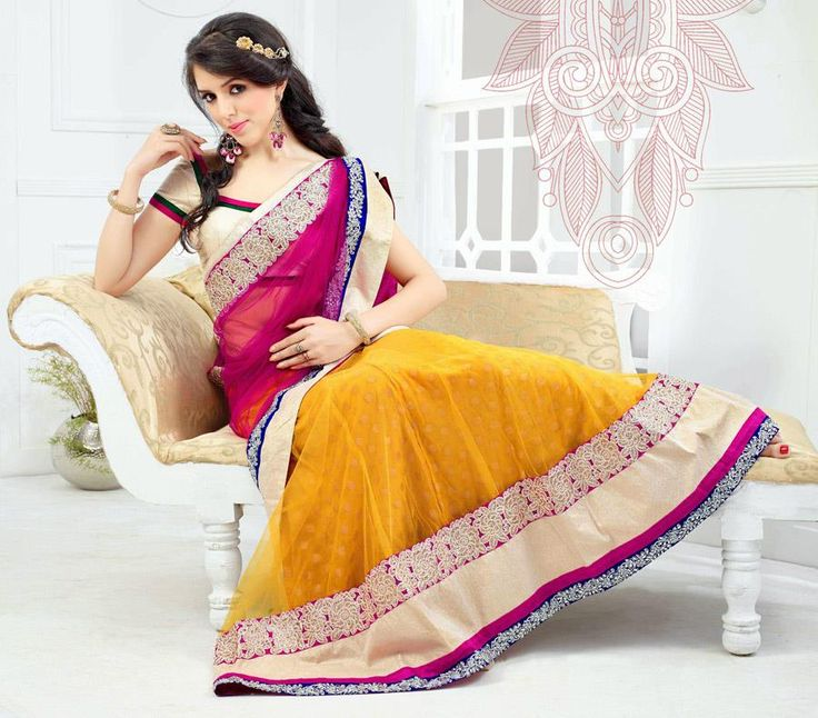 <p>Hey Ladies! As promised, we are back with fantastic giveaway! Why? Because its Our B'day ladies! Wish us..   And What to Win? You can win this gorgeous Yellow Lehenga Choli! Yes, You heard it right and that with very simple steps. Interested? Then read ahead.. How To Enter? Very …</p>