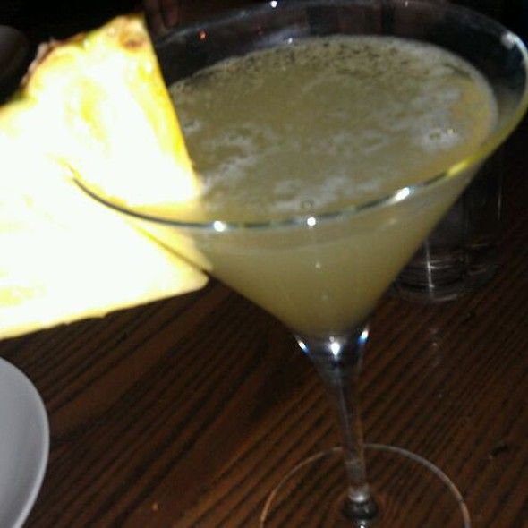 Black Diamond Pineapple Martini @ Firebirds Woodfire Grill