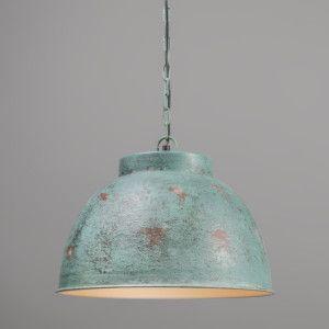 Hanglamp Vintage L antiek groen - Hanglampen - Binnenverlichting - Lampenlicht.nl