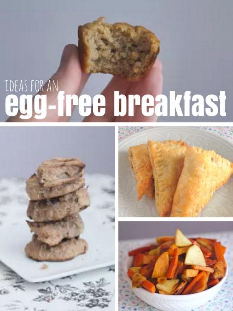 Egg-Free Breakfast Ideas - Baby Led Weaning Ideas