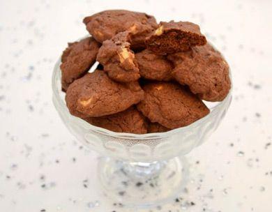 Schwarz-Weiss-Cookies