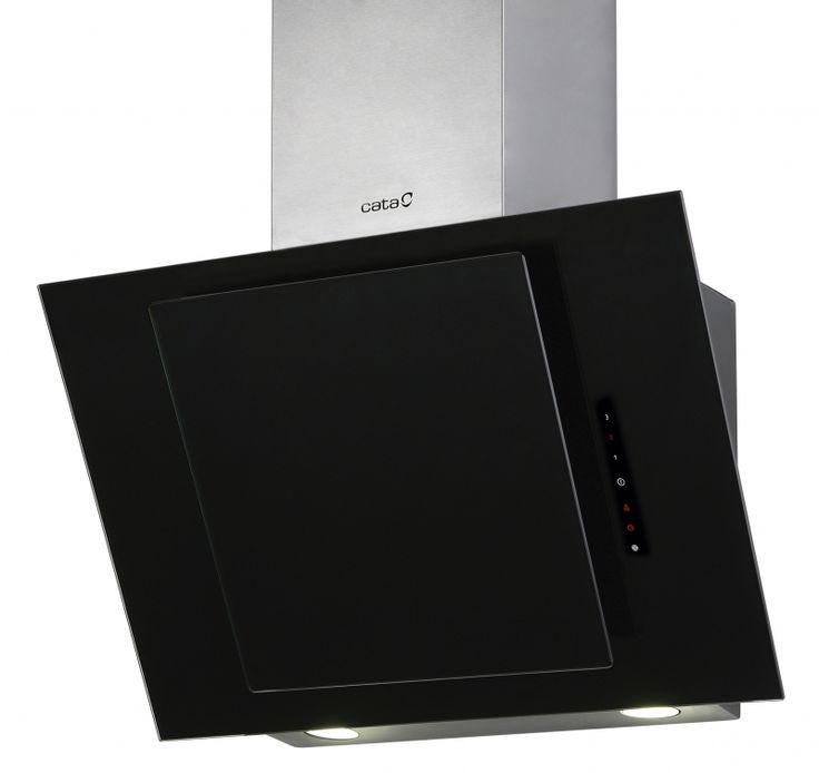 Cata Ceres 600 negra / Вытяжки кухонные / Вытяжки со стеклом / Продукция