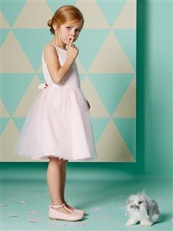 Tulle & Cotton Satin Special Occasion Dress  - vertbaudet enfant