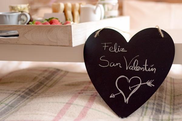 Desayuno en la cama por San Valentín