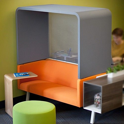 Cool refresh on office workspace. Bivi Rumble Seat with Hoodie