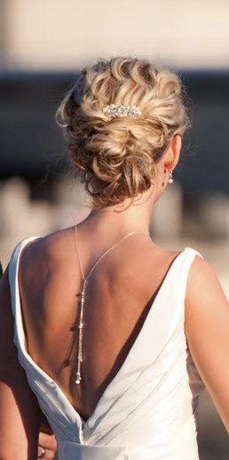 Bridal Pearl comb Wedding accessories Swarovski by Element4you, $26.00