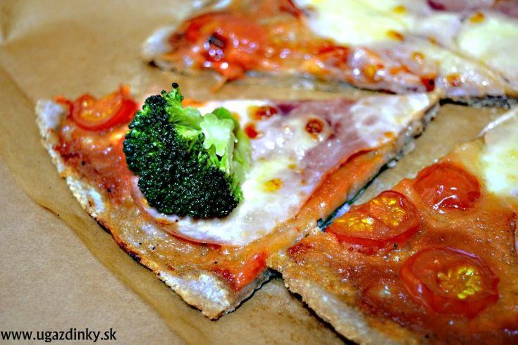 Bezlepková pizza z pohánkovej a ryžovej múky