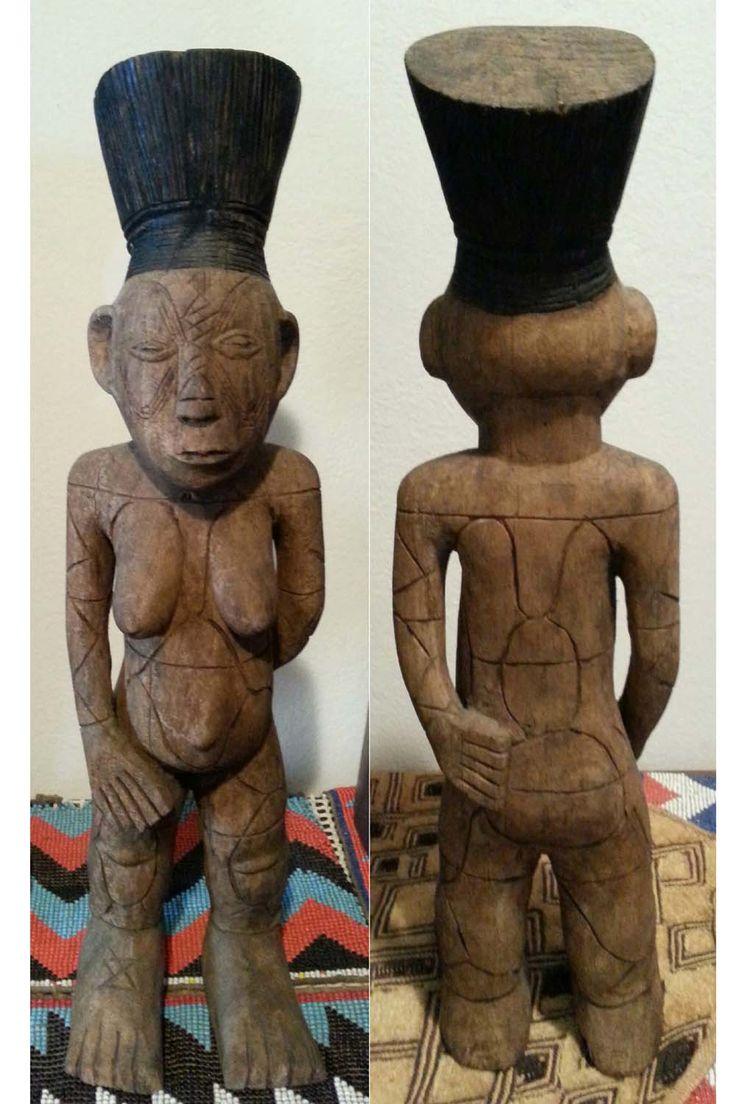 Scultura Mangbetu - Fronte/retro.
