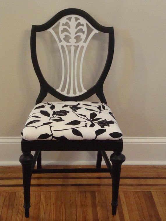 the antique chair i found looks almost just like this one.  i think i'll paint it olive. haven't found the right fabric, though.