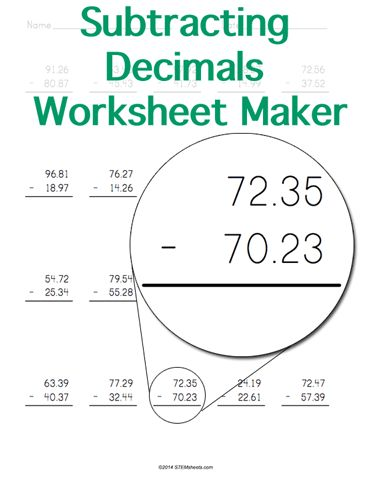20 best ROUNDING images on Pinterest 3rd grade math, Grade 3 and - horizontal subtraction facts worksheet