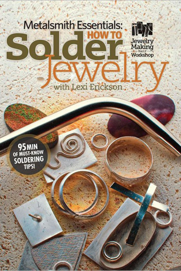 Metalsmithing jewelry is easier than you think with this exclusive DVD that shows you how to solder jewelry step-by-step and increase your jewelry-making skills! #metalsmithing #jewelrymaking #metaljewelry