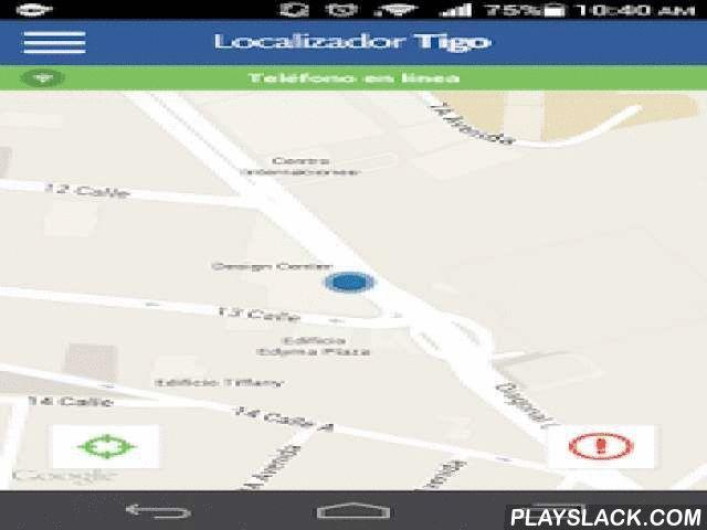 Localizador Tigo  Android App - playslack.com ,  Localizador Tigo es una plataforma de localización diseñada especialmente para teléfonos celulares. Para obtener información ingresa al sitio http://localizadortigo.com/, donde encontrarás características del sistema y videos de la herramienta.Actualmente Localizador Tigo está disponible para todas las líneas corporativas de Tigo Guatemala. Puedes adquirir el servicio comunicándote con un asesor de Tigo Business al número 2428-0099. ¡Será un…