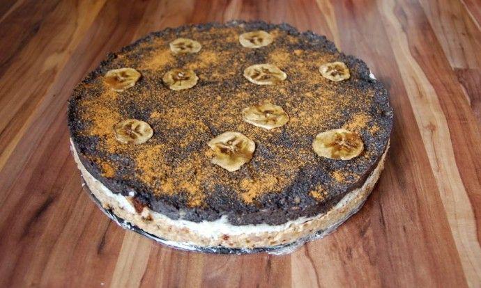 Raw božský makový dort