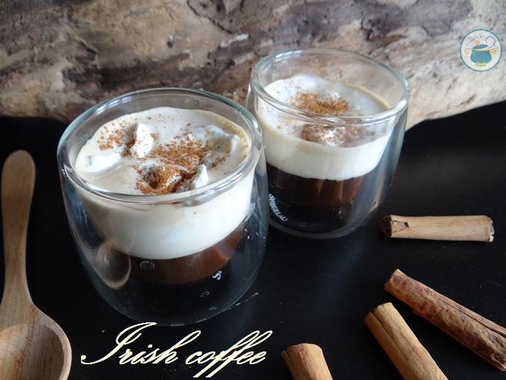 Irish coffee alla cannella / caffè irlandese