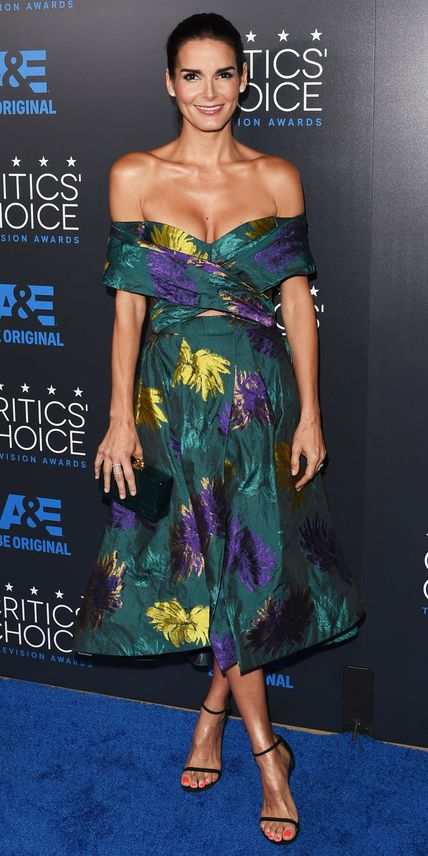See All the Best Looks from the 2015 Critics' Choice TV Awards - Angie Harmon from #InStyle