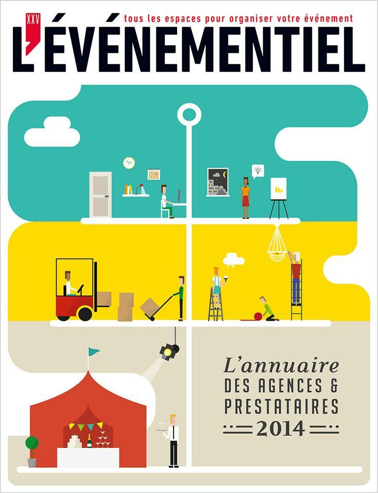 Il est sorti ! L'annuaire des Agences & Prestataires 2014 À commander sur : http://www.evenementiel.fr/publication