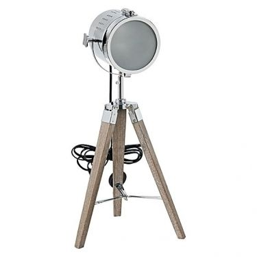 32 best images about sdn industrial inspiration on pinterest chandelier lighting modern - Tripod spotlight table lamp ...