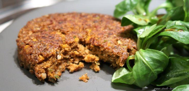 Insekten Burger von Essento Food erhältlich bei Coop Schweiz. Insectburger mit Mehlwurm.