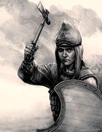 Скифская женщина-воин