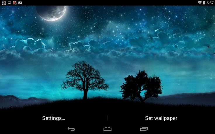 Download free Dream Night Free LiveWallpaper for Samsung Galaxy J1