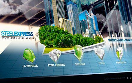 Diseño Web Steel Express SRL