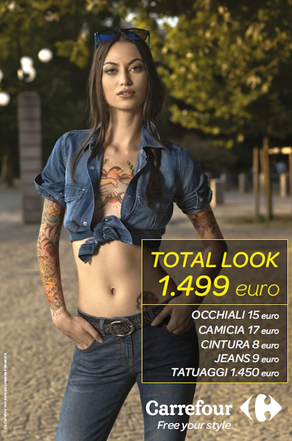#ADV  #CAMPAIGN #CARREFOUR   an ironic point of view about low cost fashion and luxury  lifestyle !#fashion #streetstyle #lifestyle #cool #lowcost #luxury #denim #people