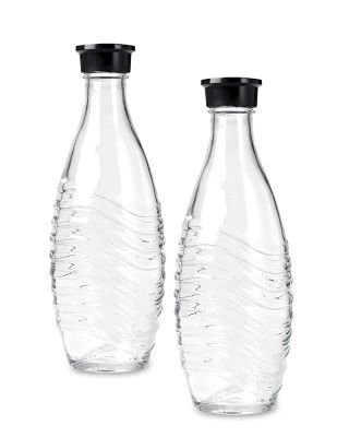 SodaStream Penguin Glass Carafes, Set of 2 #williamssonoma