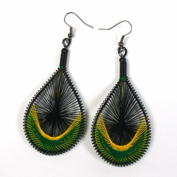 102 best orecchini rasta images on Pinterest | Reggae, Necklaces ...