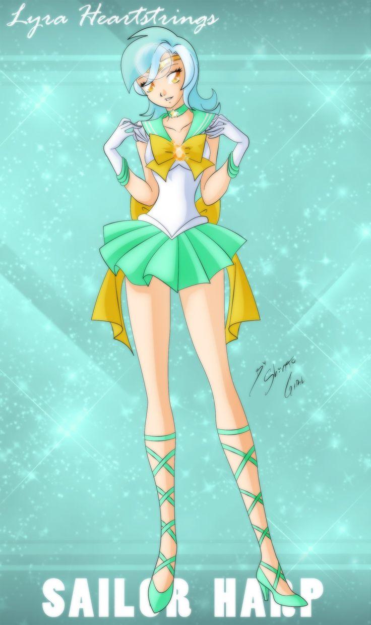 Sailor Harp - Lyra Heartstrings by Shinta-Girl.deviantart.com on @deviantART