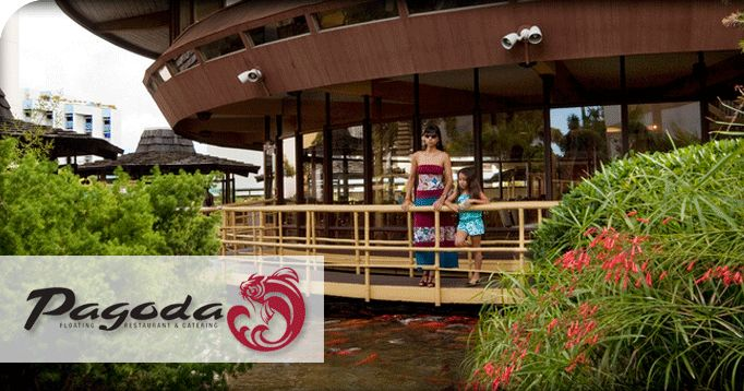 Pagoda restaurant for Oahu weddings